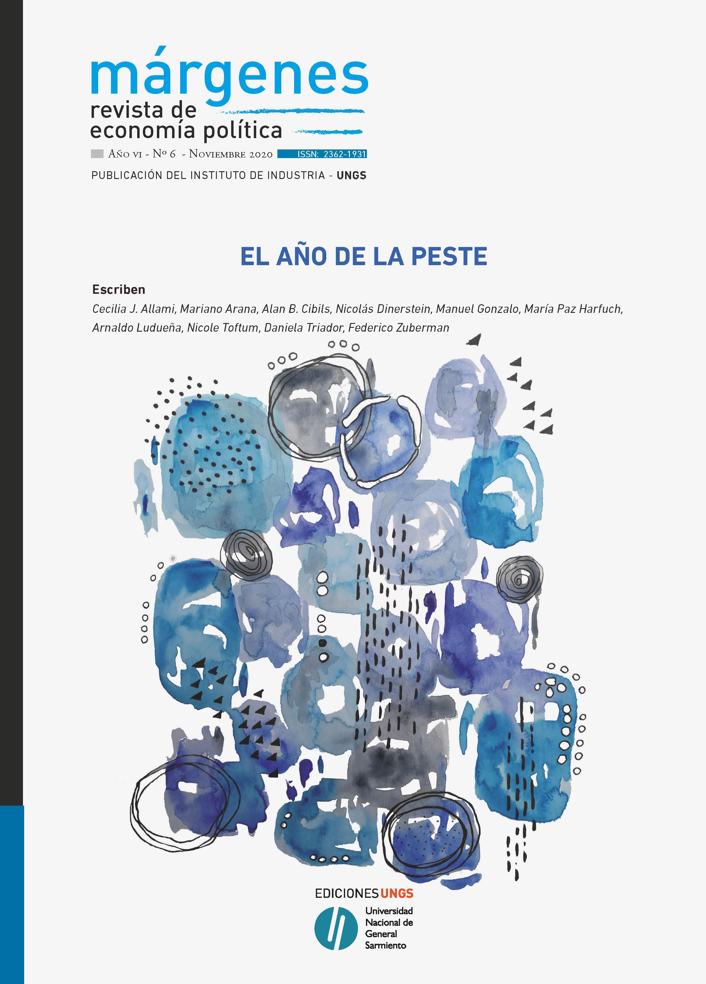 Ver Núm. 6 (2020): El año de la peste